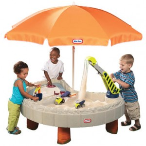 Superior Little Tikes Builderu0027s Bay Sand U0026 Water Table Review ...