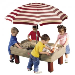 Step2 Naturally Playful Sand and Water Activity Center with kids