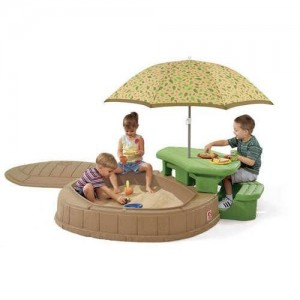 Step2 Naturally Playful Summertime Play Center Toys Review Little Tikes Sandbox With Picnic