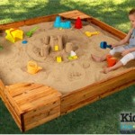 kidkraft-backyard-sandbox with kids