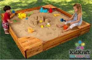 KidKraft Backyard Sandbox Review